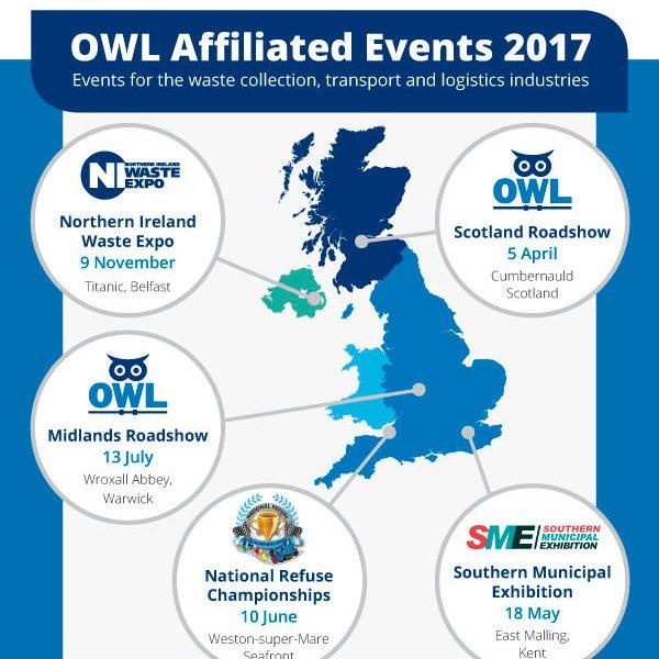 OWL roadshow events 2017