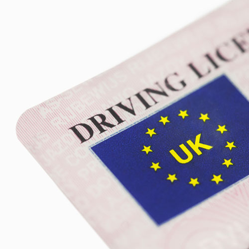 Driving licence checks