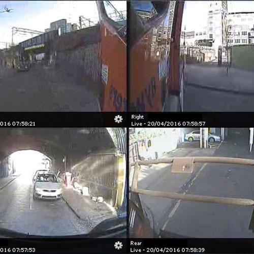 Live safety cameras