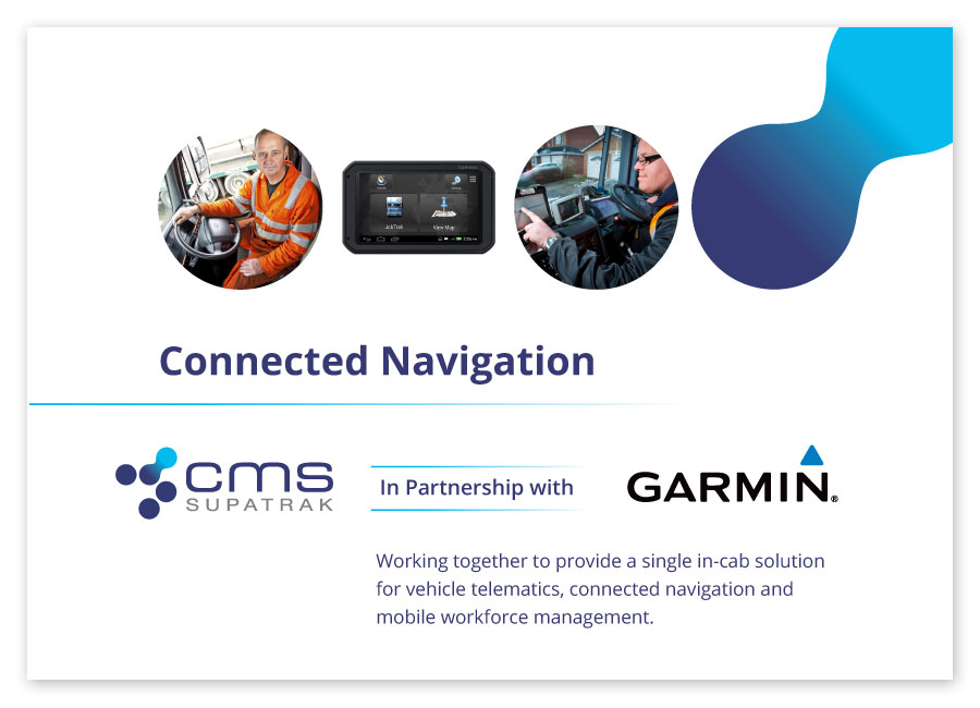 Connected Navigation brochure cover
