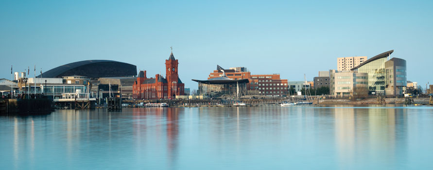 Cardiff bay copyright shutterstock